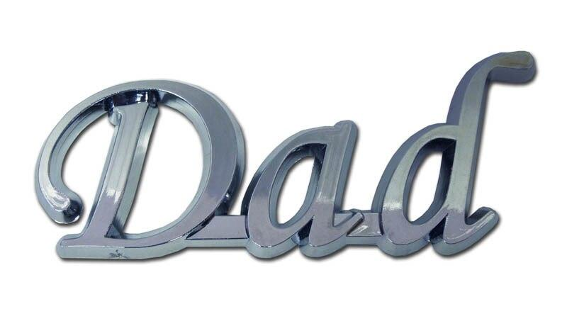 Dad Chrome Emblem