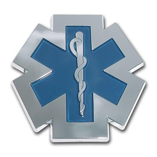 EMS Chrome Car Emblem