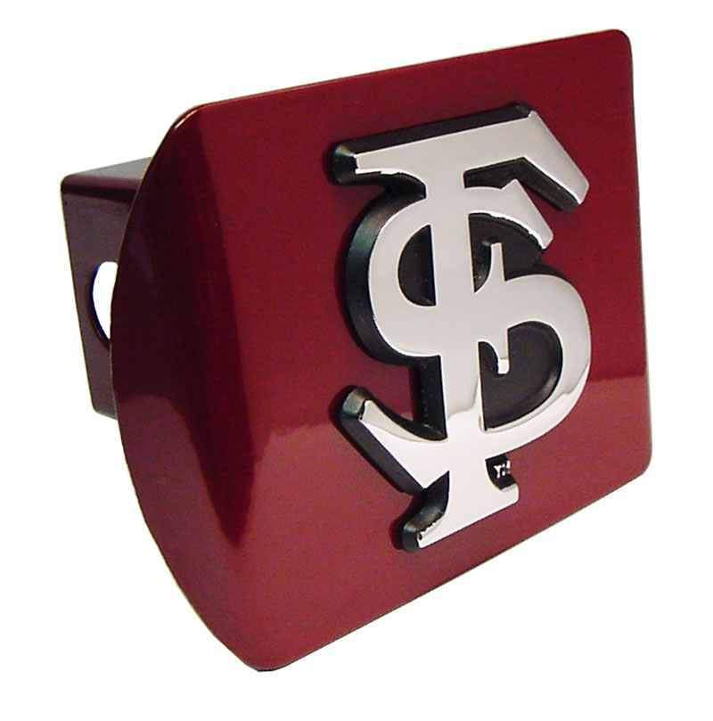 Florida State University Interlocking FS Garnet Hitch Cover