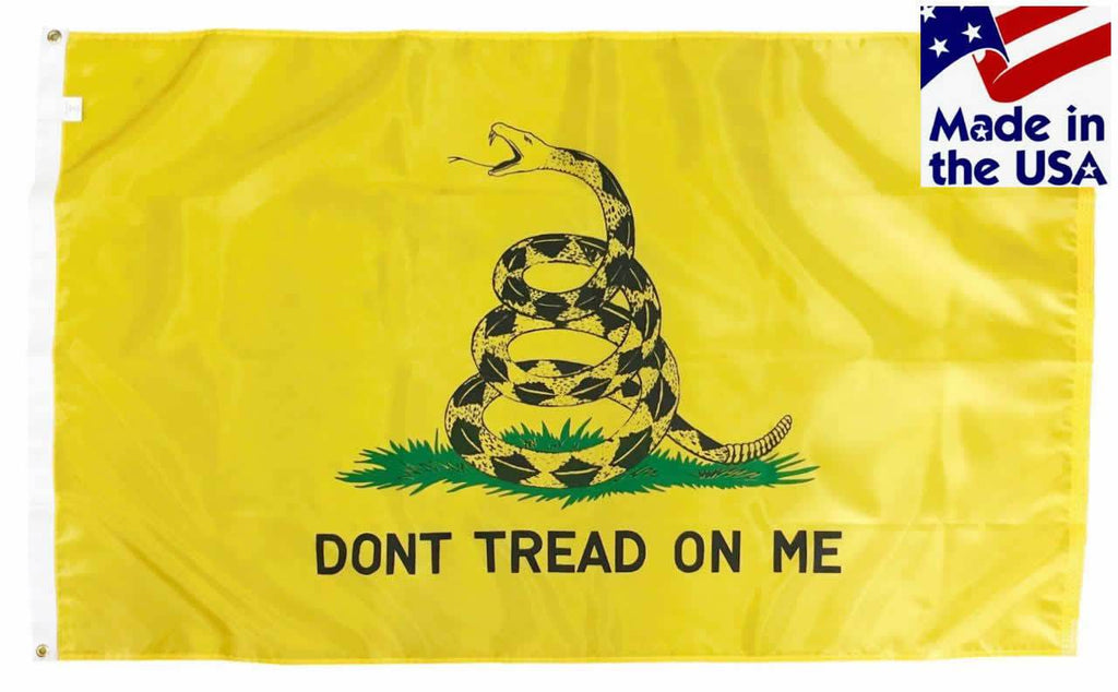 Gadsden Don't Tread On Me Flag 3x5 Nylon