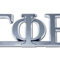 Gamma Phi Beta Sorority Chrome Car Emblem - Chrome Car Emblems | Trailer Hitch Covers/Greek Fraternity and Sorority Emblems - I AmEricas Flags