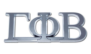 Gamma Phi Beta Sorority Chrome Car Emblem