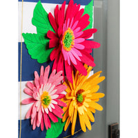 Gerbera Welcome Decorative Door Hanger Detail