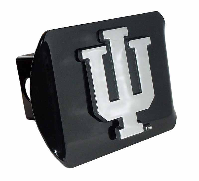 Indiana University Black Hitch Cover