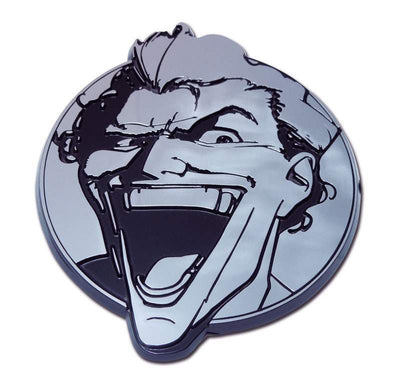 Joker Chrome Car Emblem