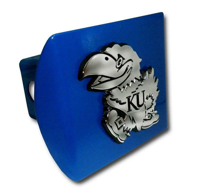 University of Kansas Jayhawk Royal Hitch Cover