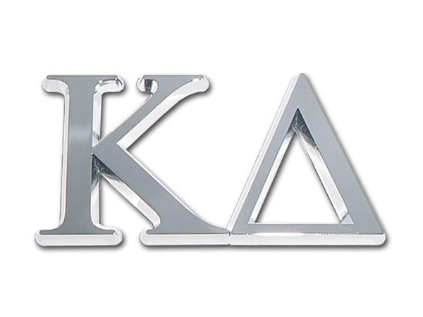 Kappa Delta Sorority Chrome Car Emblem