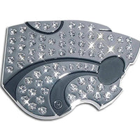 K State Powercat Crystal Chrome Car Emblem