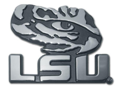 Louisiana State University Tiger Eye  Chrome Car Emblem