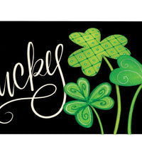 Lucky Clovers Mailbox Cover