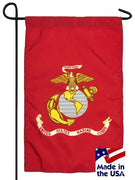 Marine Corps Nylon Garden Flag Made in the USA