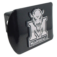 Marshall University Black Hitch Cover