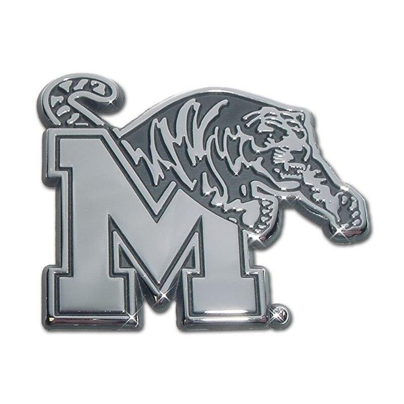 University of Memphis Chrome Car Emblem