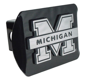 University of Michigan Black Hitch Cover