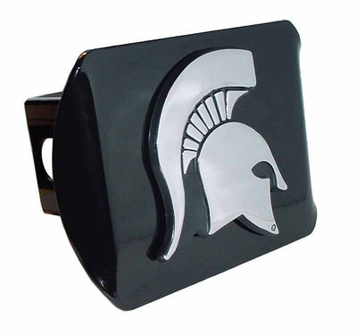 Michigan State University Spartan Black Hitch Cover