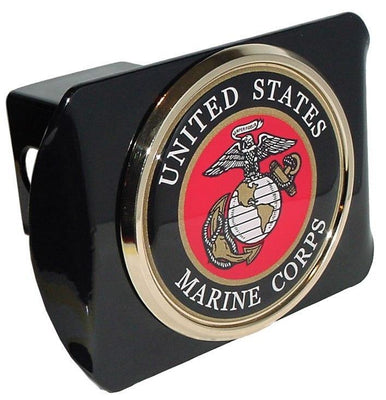 Marines Seal Black Hitch Cover