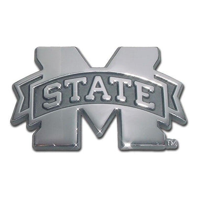 Mississippi State University Chrome Car Emblem