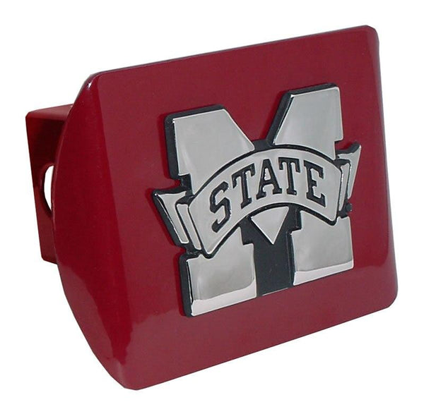 Mississippi State University Maroon Hitch Cover