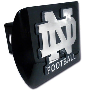 University of Notre Dame Football Black Hitch Cover