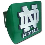 University of Notre Dame Football Green Hitch Cover
