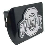 Ohio State University Black Hitch Cover