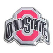 Ohio State University Chrome and Color Car Emblem