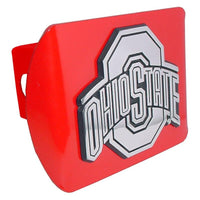 Ohio State University Red Hitch Cover