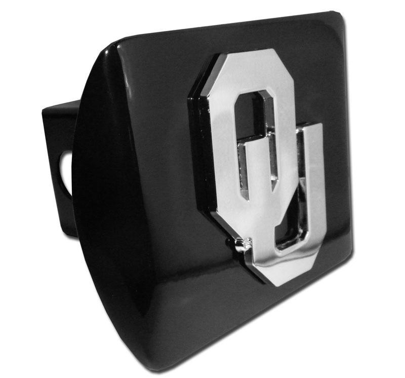 University of Oklahoma OU Black Hitch Cover