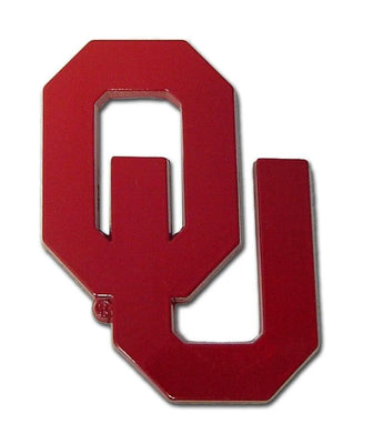 University of Oklahoma OU Color Car Emblem