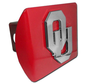 University of Oklahoma OU Crimson Hitch Cover