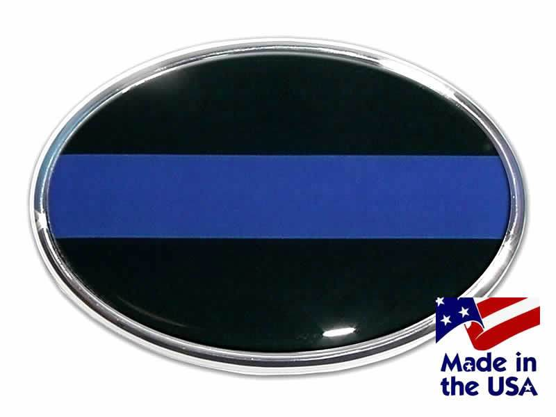 Bright Hitch Thin Blue Line Hitch Cover