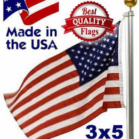 PolyMax 2-Ply Polyester 3x5 American Flag Reinforced Corners