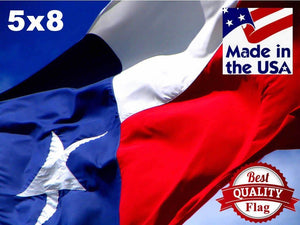 PolyMax 2-Ply Polyester 5x8 Texas Flag