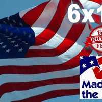 PolyMax 2-Ply Polyester 6x10 American Flag