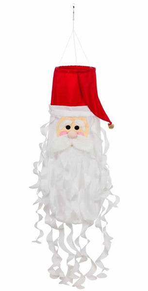 Santa 3D Windsock - I AmEricas Flags