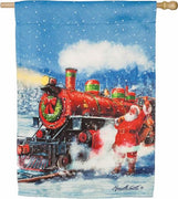 Santa Express Suede Reflections House Flag