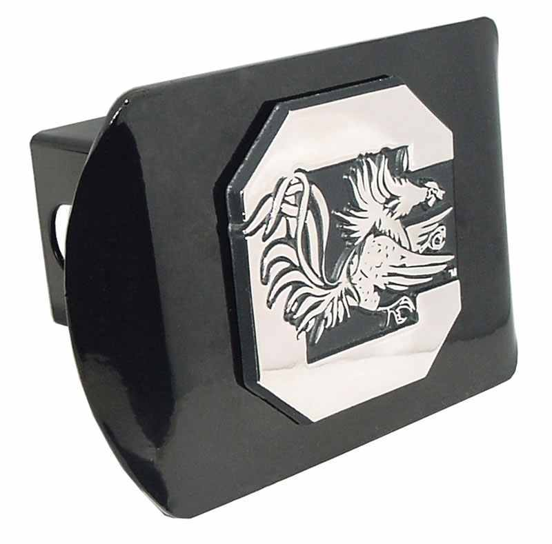 University of South Carolina Gamecock Black Hitch Cover