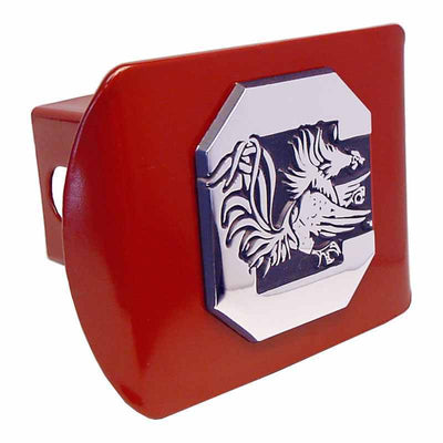 University of South Carolina Gamecock Garnet Hitch Cover