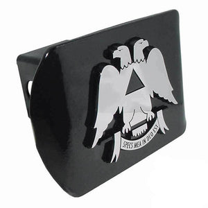 Scottish Rite Black Hitch Cover