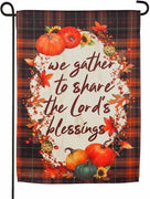 Share The Lord's Blessings Suede Reflections Garden Flag