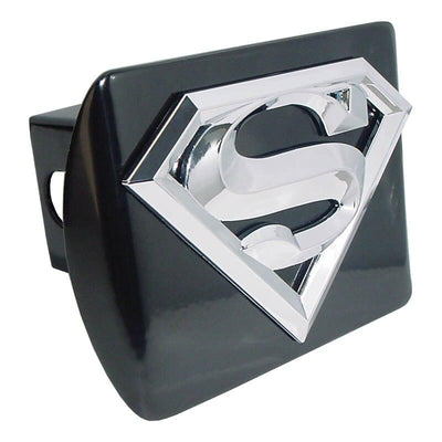 Superman 3D Black Hitch Cover
