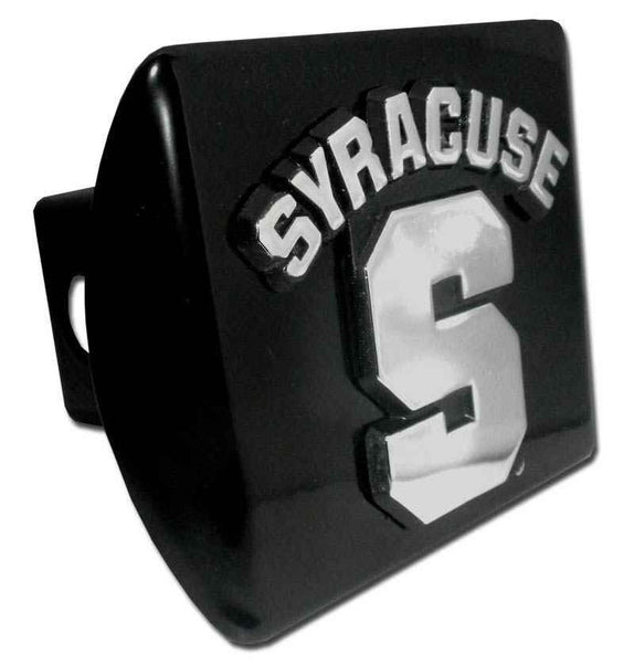 Syracuse University Black Hitch Cover