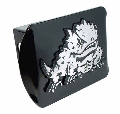 Texas Christian University Horned Frog Black Hitch Cover