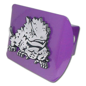 Texas Christian University Horned Frog Purple Hitch Cover