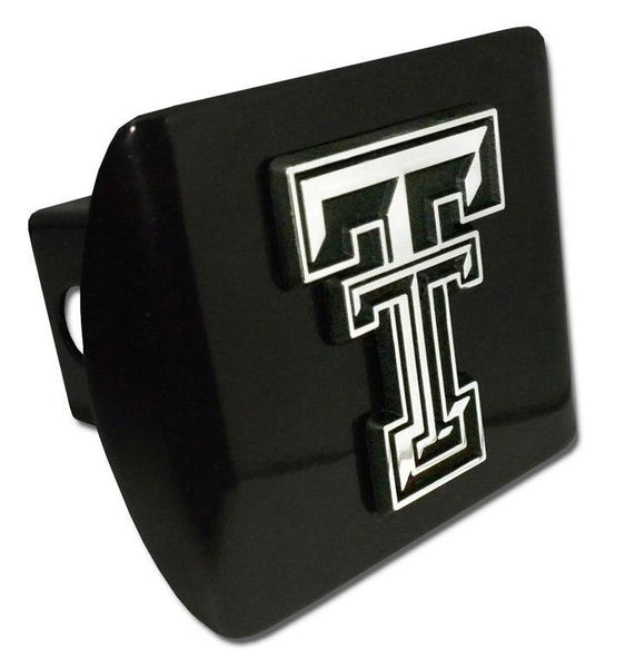 Texas Tech University Double T Black Hitch Cover