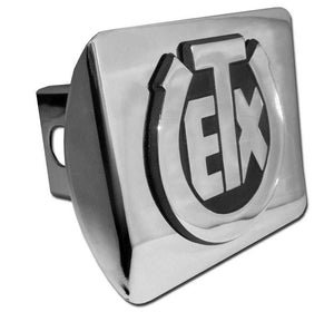 University of Texas Exes Shiny Chrome Hitch Cover