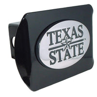Texas State University Black Hitch Cover