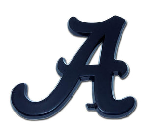 University of Alabama A Black Car Emblem