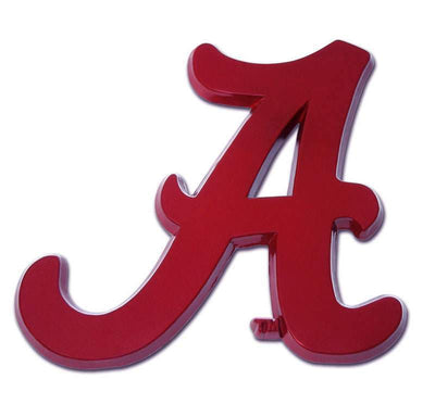 University of Alabama A Crimson Car Emblem