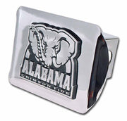 University of Alabama Crimson Tide Shiny Chrome Hitch Cover